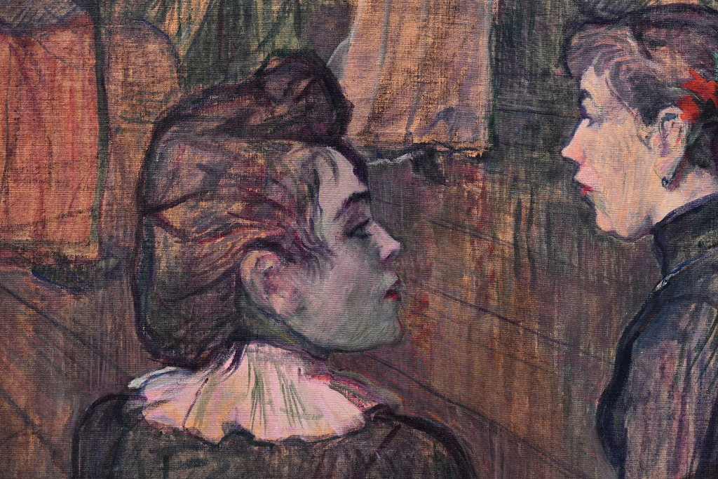 Vue d'exposition Toulouse Lautrec - Grand Palais - Paris (77)