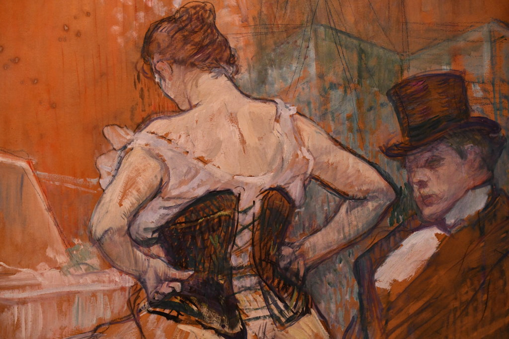 Vue d'exposition Toulouse Lautrec - Grand Palais - Paris (83)