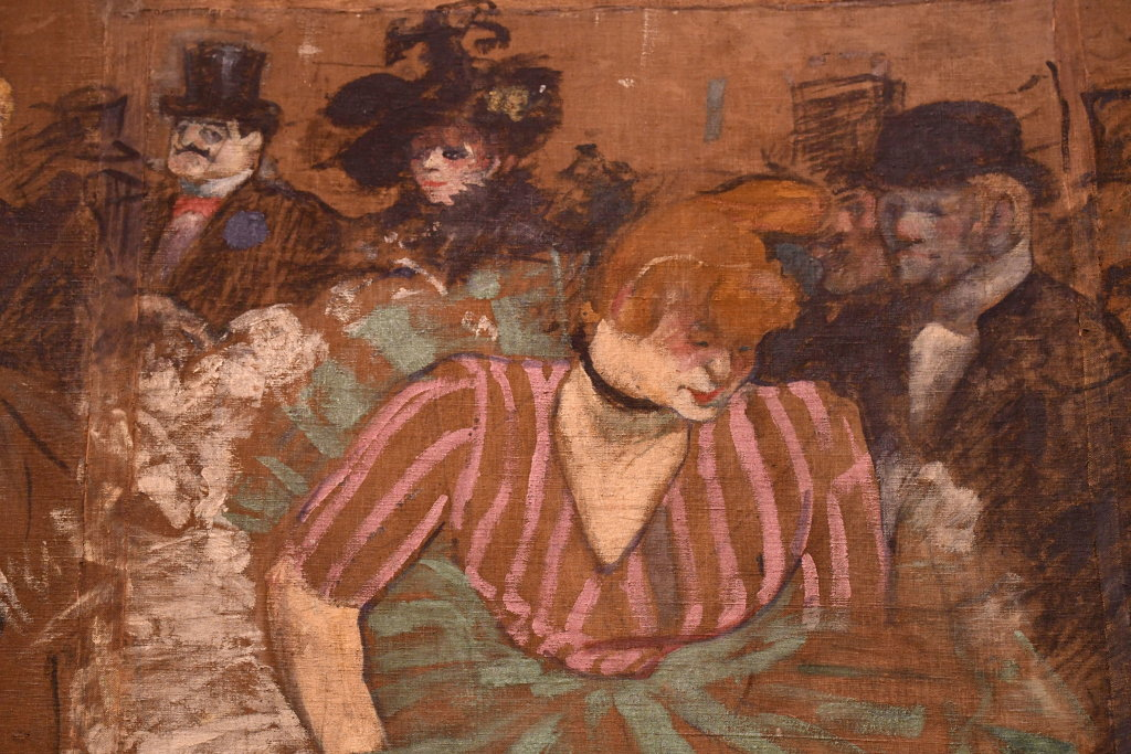 Vue d'exposition Toulouse Lautrec - Grand Palais - Paris (85)