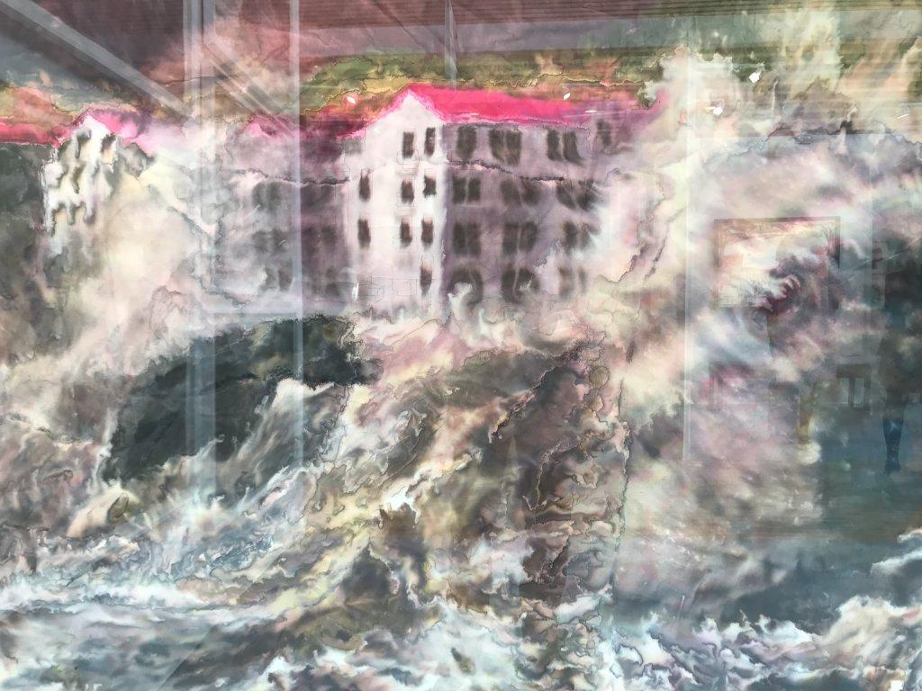 Vue du salon Drawing Now Art Fair, Carreau du Temple, Paris (100)