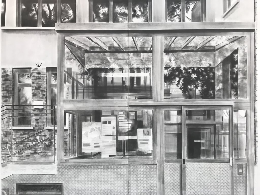 Vue du salon Drawing Now Art Fair, Carreau du Temple, Paris (135)
