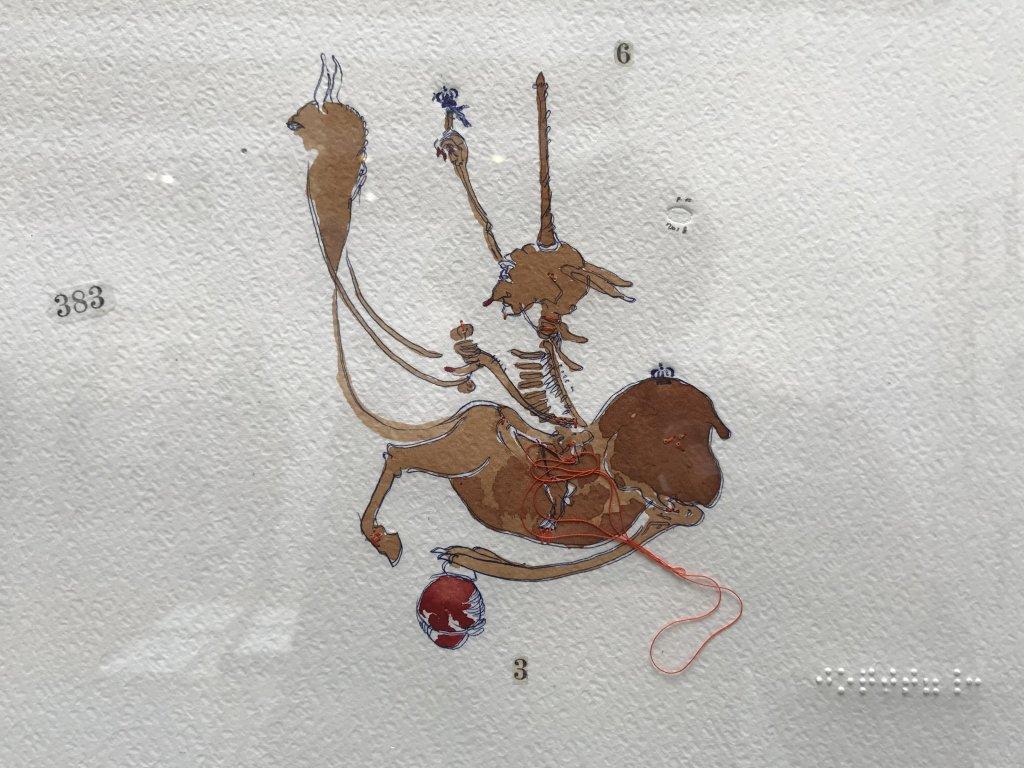 Vue du salon Drawing Now Art Fair, Carreau du Temple, Paris (137)