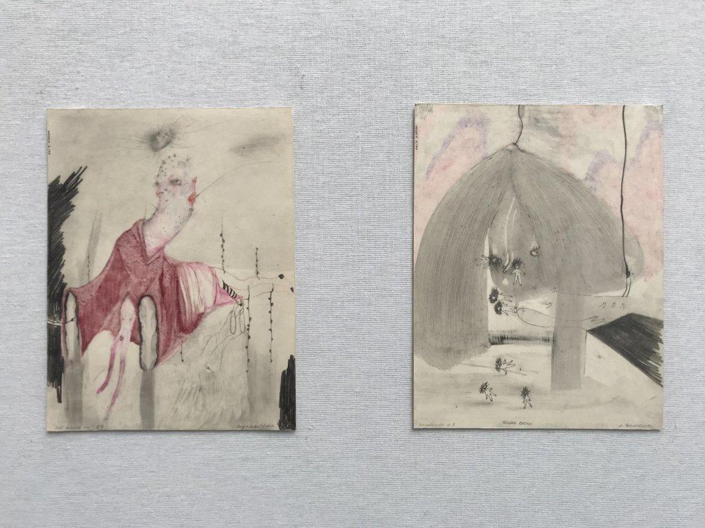 Vue du salon Drawing Now Art Fair, Carreau du Temple, Paris (78)
