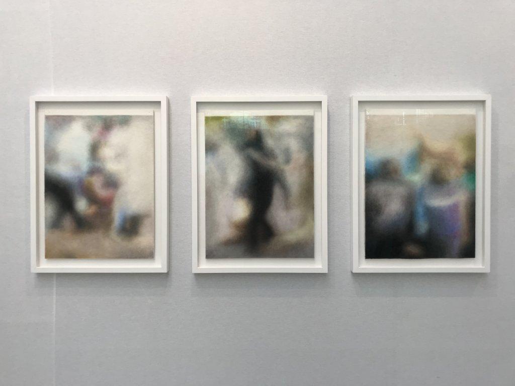 Vue du salon Drawing Now Art Fair, Carreau du Temple, Paris (80)