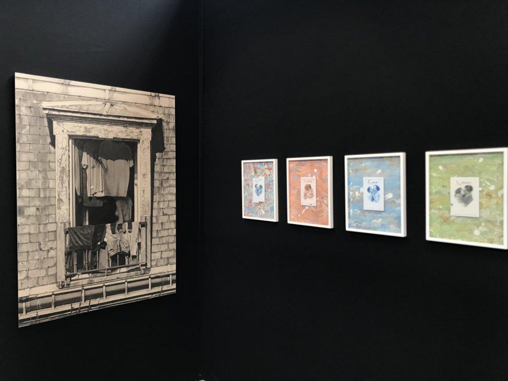 Vue du salon Drawing Now Art Fair, Carreau du Temple, Paris (94)