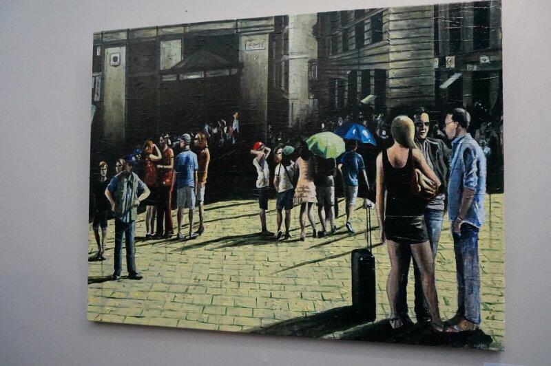 Vue du Salon du dessin et de la peinture à l'eau -ART CAPITAL 2017 - Grand Palais, Paris (68)
