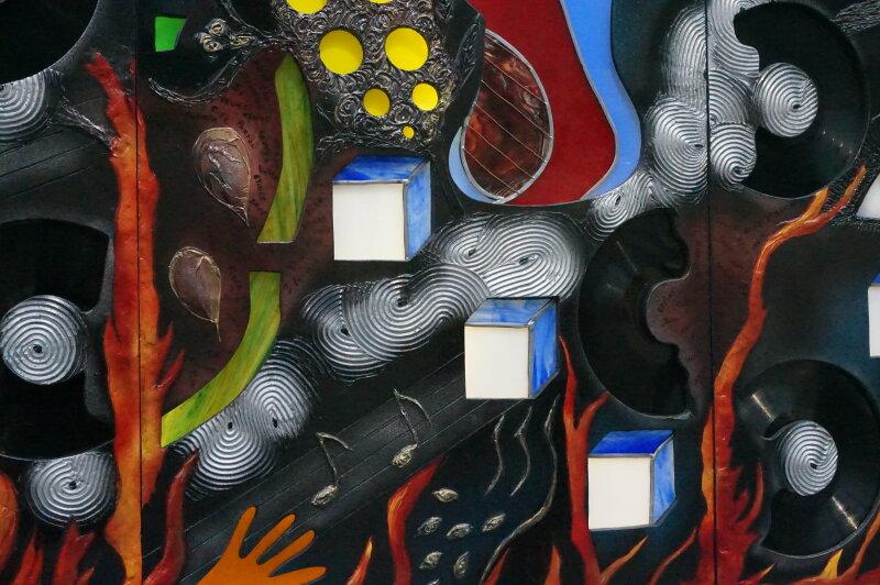 Vue du Salon du dessin et de la peinture à l'eau -ART CAPITAL 2017 - Grand Palais, Paris (70)