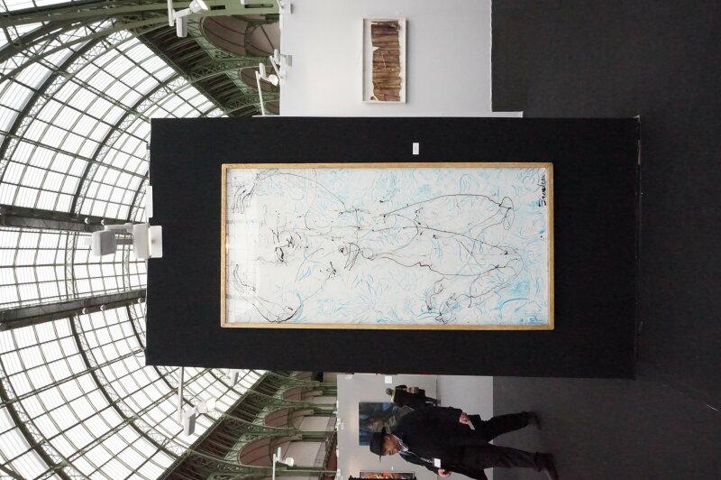 Vue du Salon du dessin et de la peinture à l'eau -ART CAPITAL 2017 - Grand Palais, Paris (72)