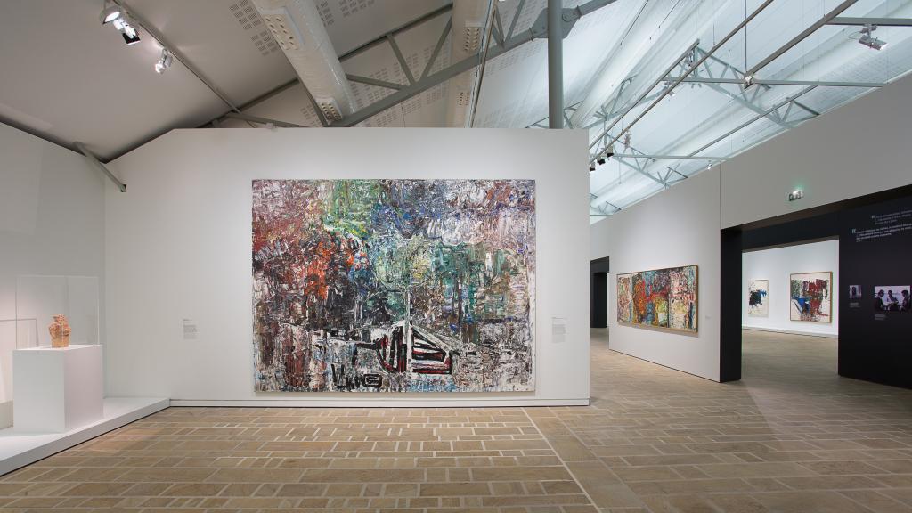 Vue expo Mitchell Riopelle_Photo N. Savale © Succession Jean-Paul Riopelle © Adagp, Paris 2018 © Estate of Joan Mitchell © FHEL 2018_HD (24)