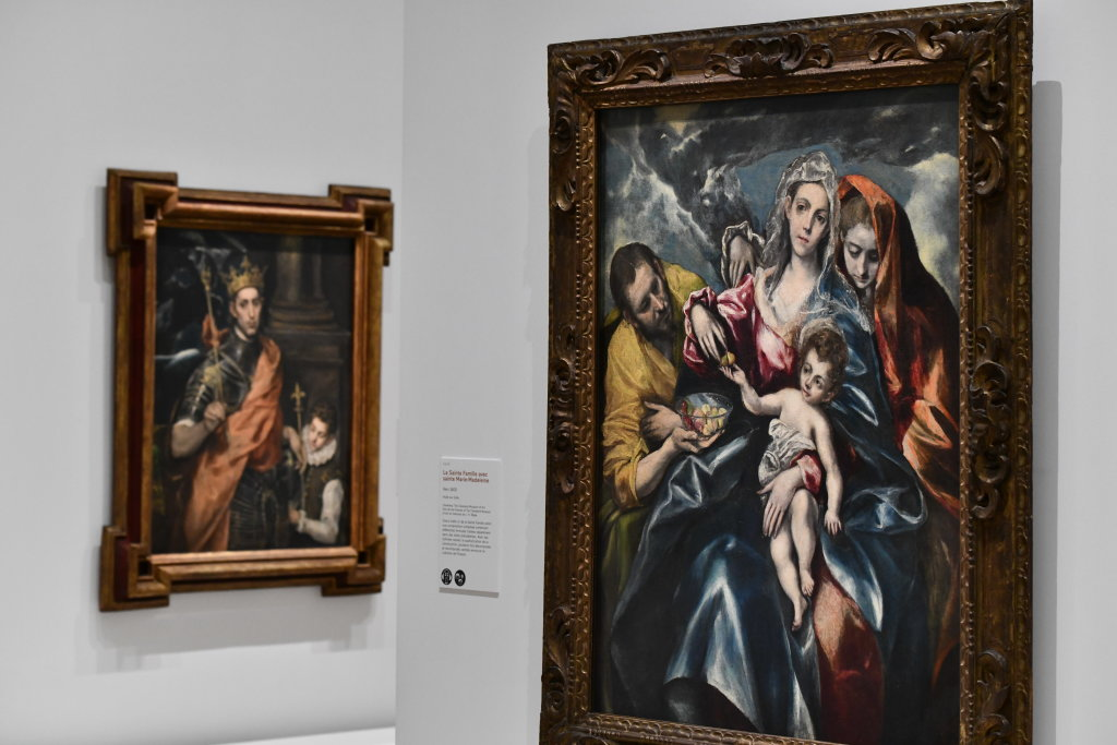 Vue exposition - Le Greco - Grand Palais - Paris (5)