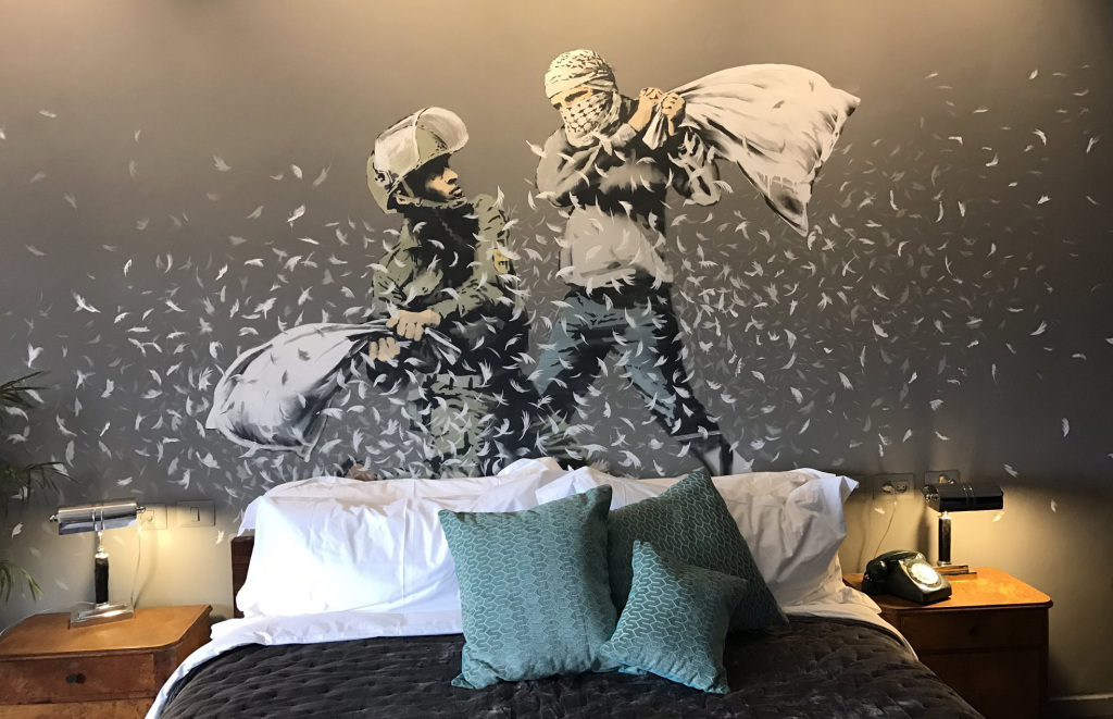 walled off hotel (c) Dusan Vranic, AP