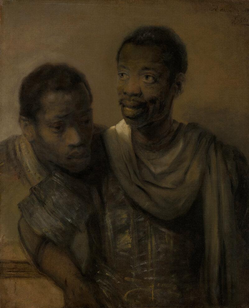 Rembrandt, Twee Moren, 1661