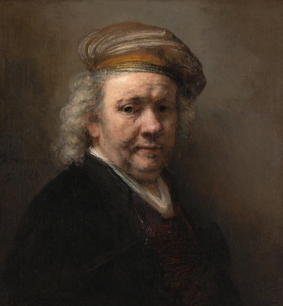 Rembrandt, Laatste Zelfportret, 1669