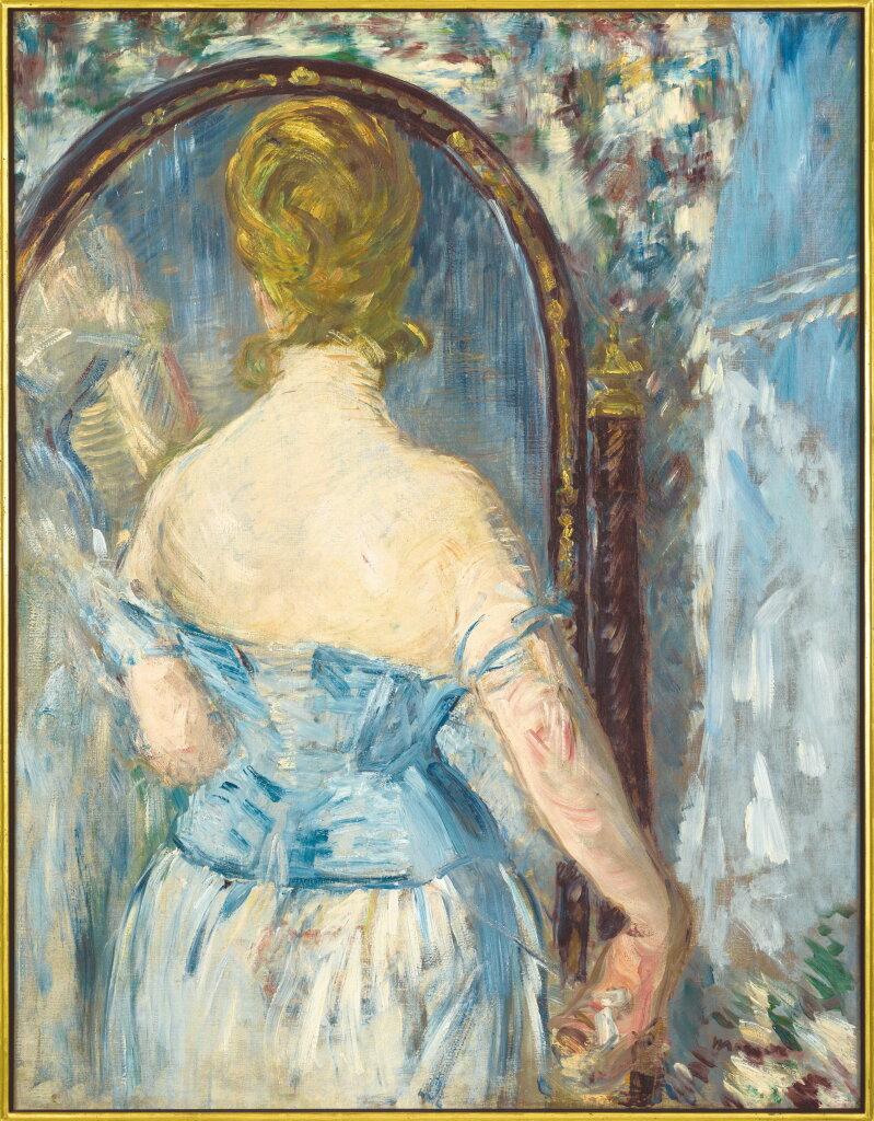 Édouard Manet, Before the Mirror (Devant la glace)