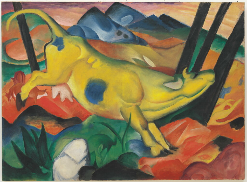 Franz Marc, Yellow Cow, 1911