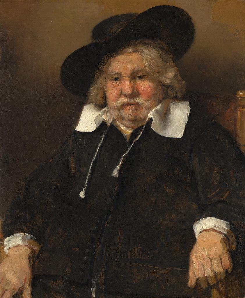 Rembrandt, Portret van een oude man, 1667