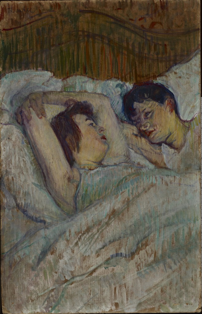 Henri de Toulouse-Lautrec, Au lit, 1892