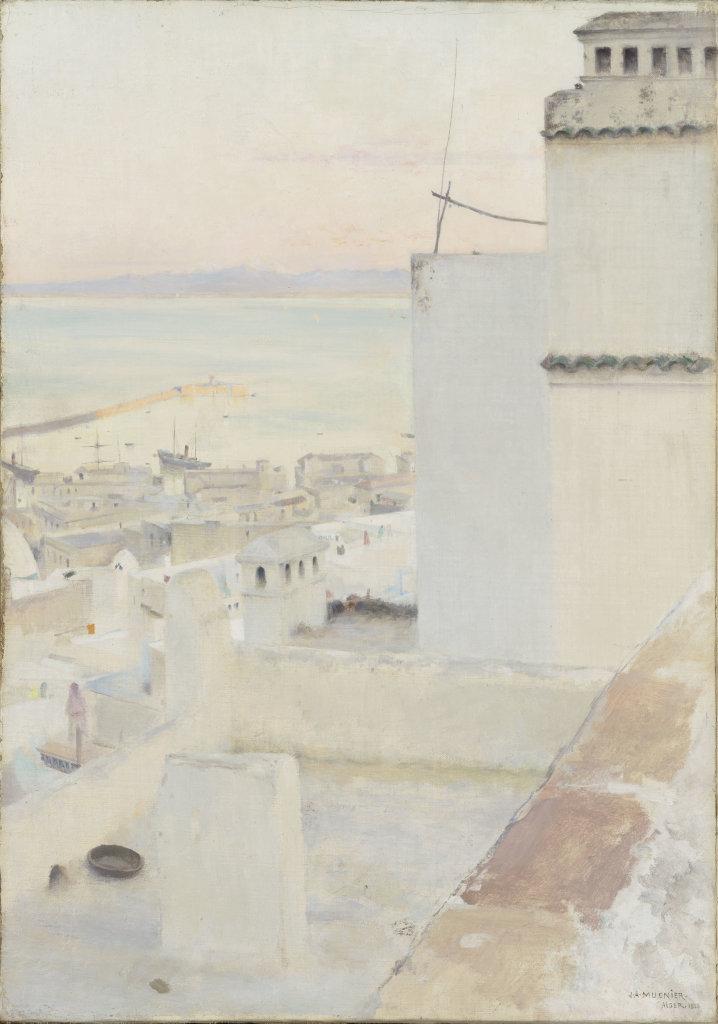 Muenier Jules Alexis, Le Port d'Alger