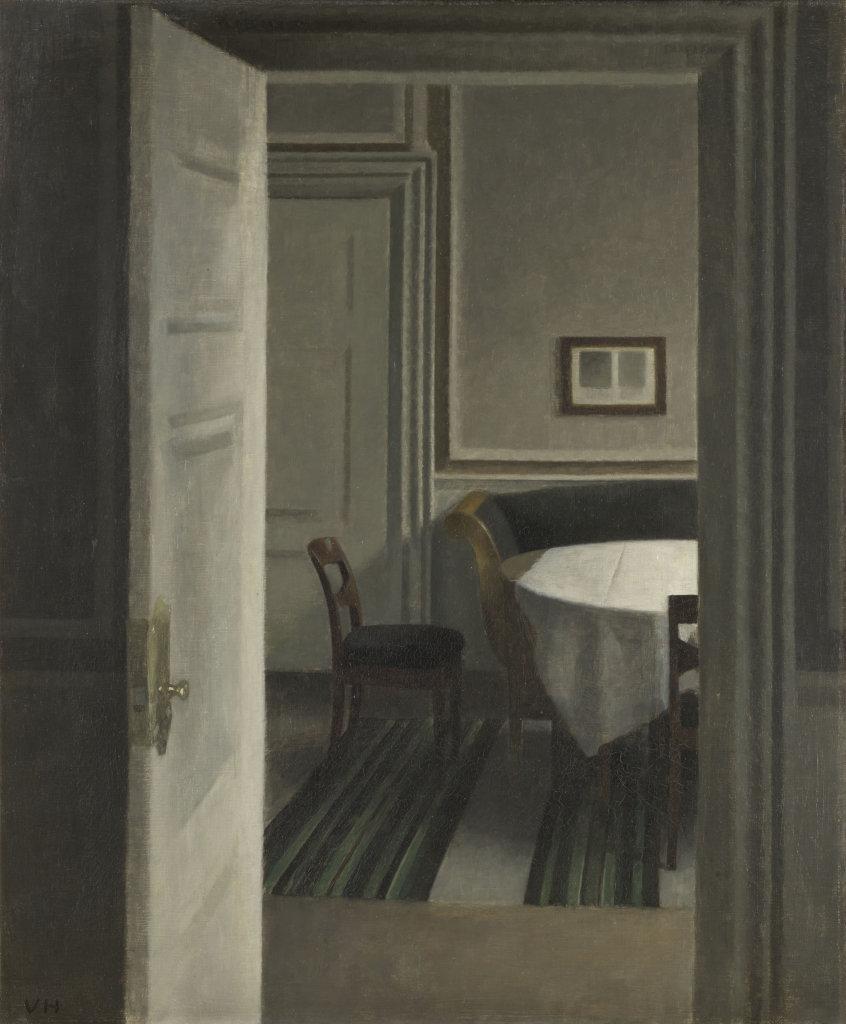 Vilhelm Hammershøi, Intérieur, Strandgade, 30