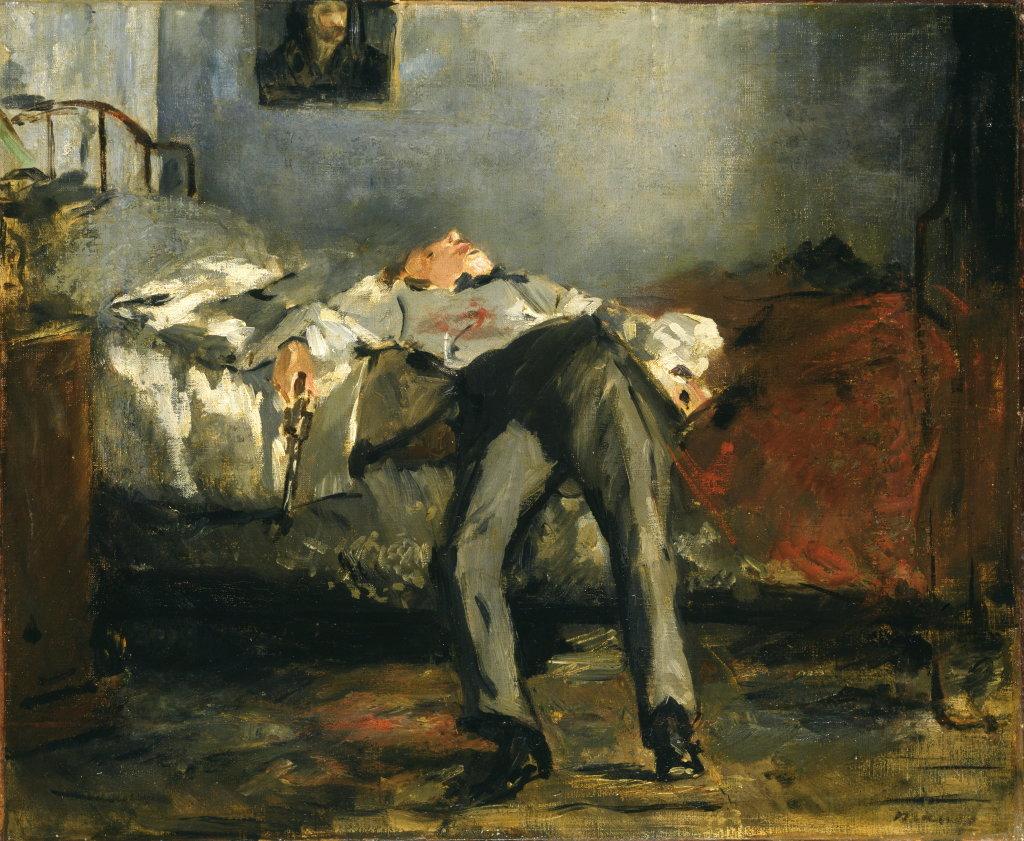Edouard Manet, Le Suicidé, vers 1877