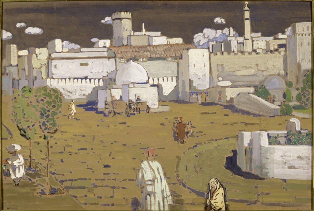 Kandinsky Vassily, Arabische Stadt