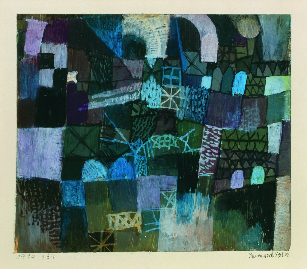Paul Klee, Innenarchitektur, 1914