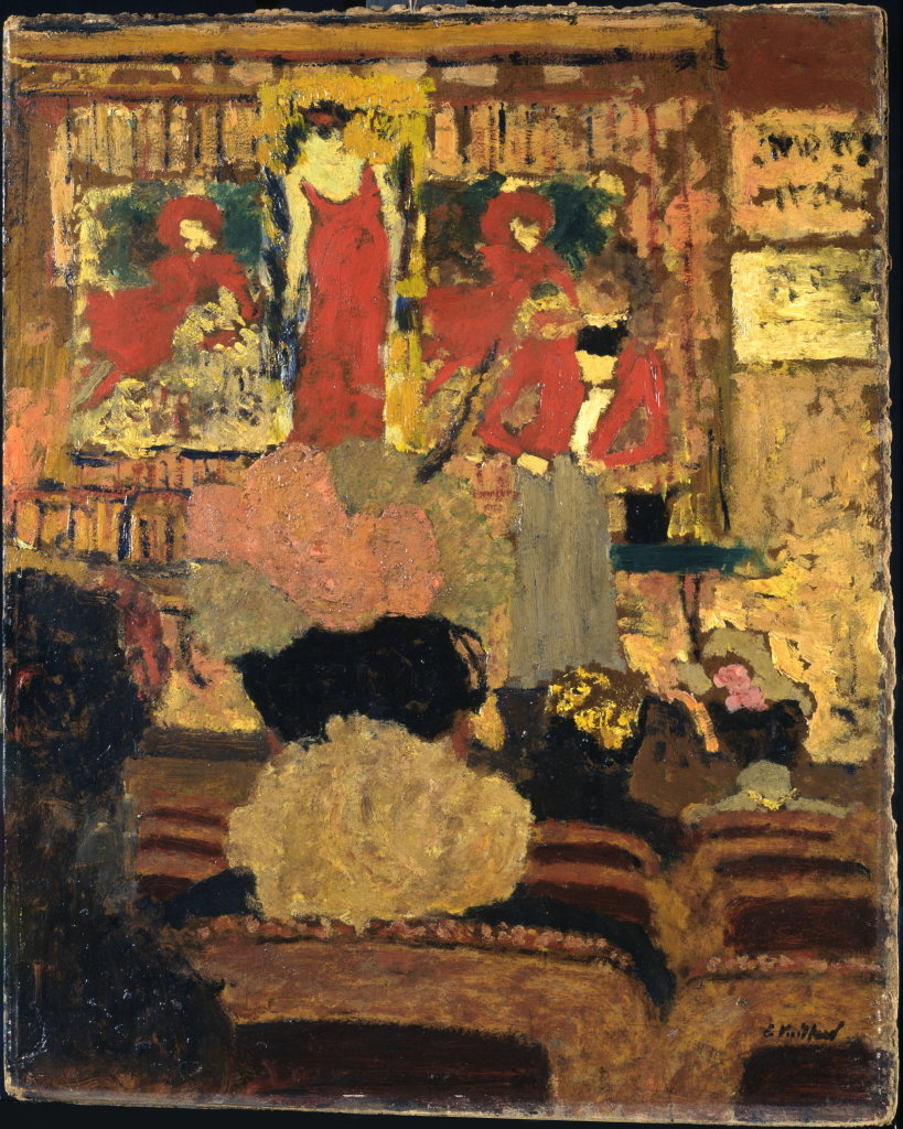 Edouard Vuillard, Le Numéro d'illusionniste, Vers 1895