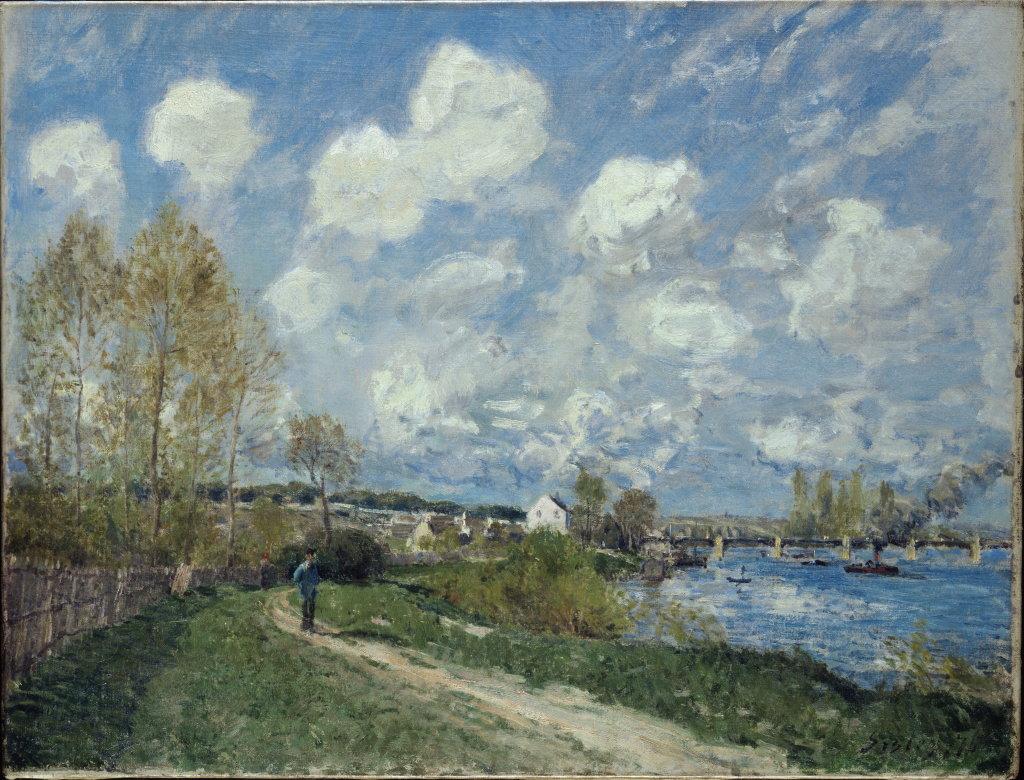 Alfred Sisley, Été à Bougival, 1876