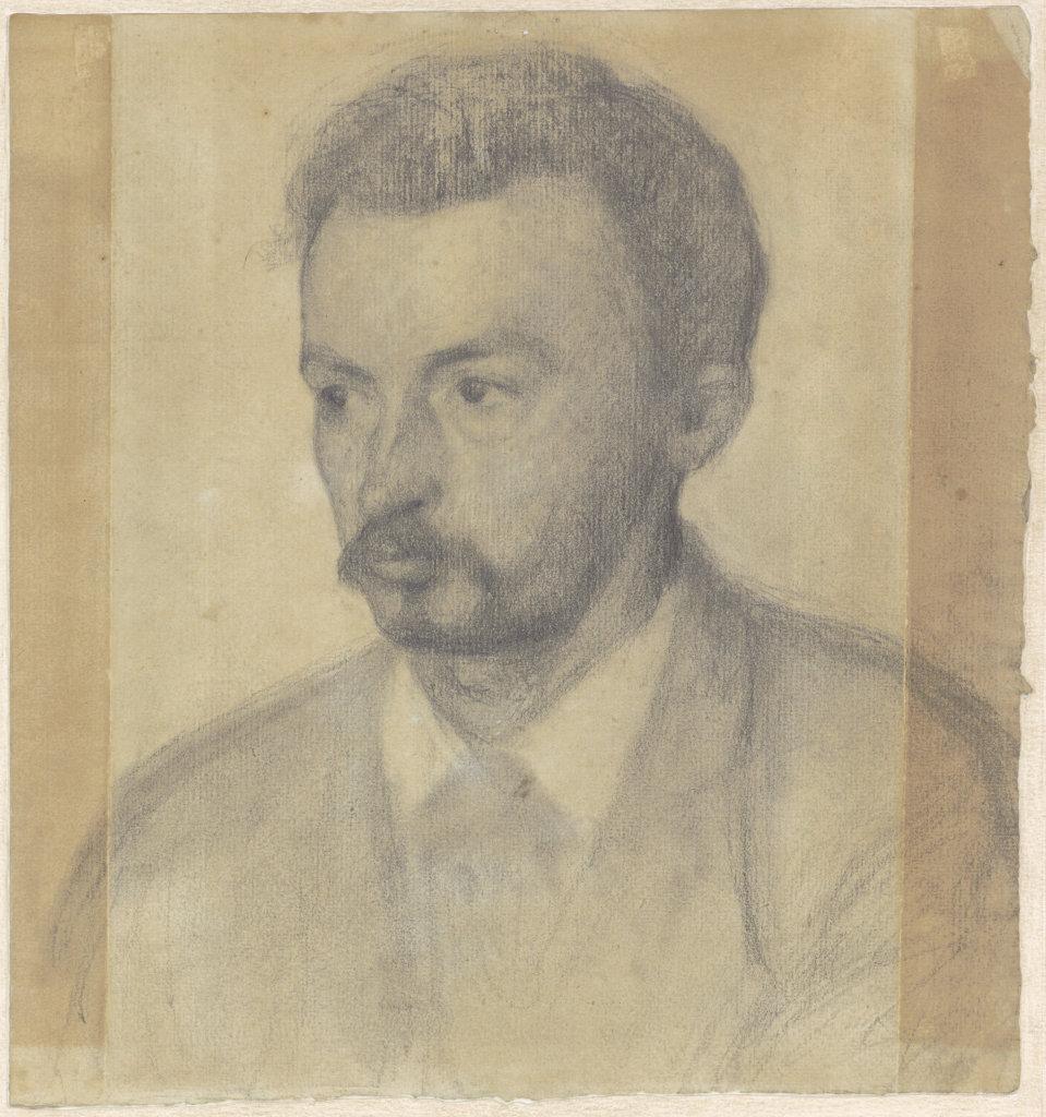 Vilhelm Hammershøi, Autoportrait, 1895