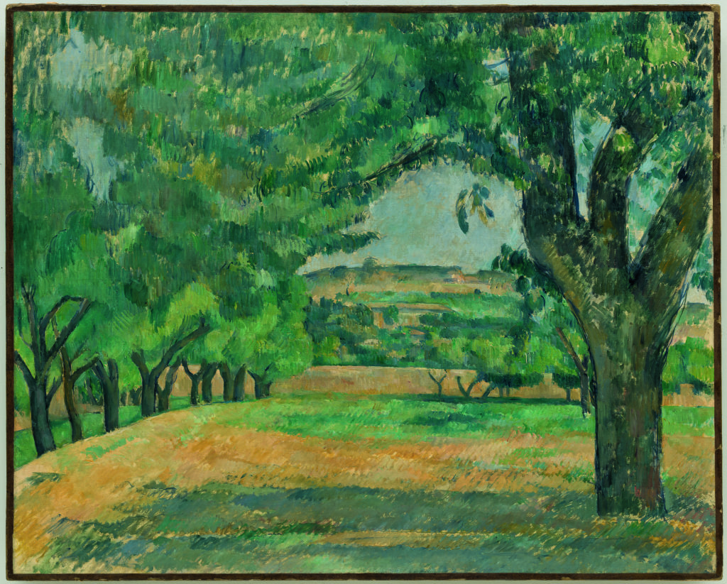 Paul Cezanne, Environs du Jas debouffan