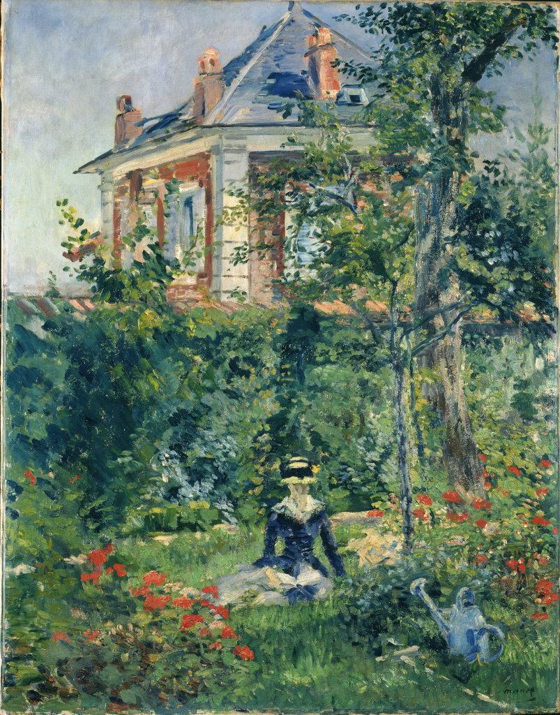 Edouard Manet, Un Coin du jardin de Bellevue, 1880