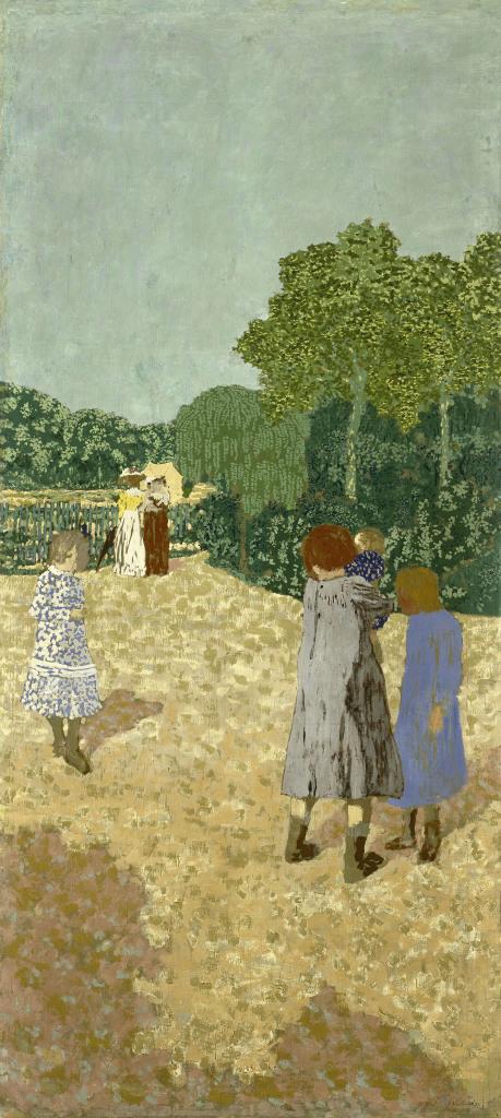 Jean-Edouard Vuillard, Jardins publics : La promenade, 1894