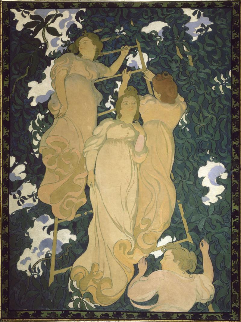Maurice Denis, L'échelle dans le feuillage, 1892