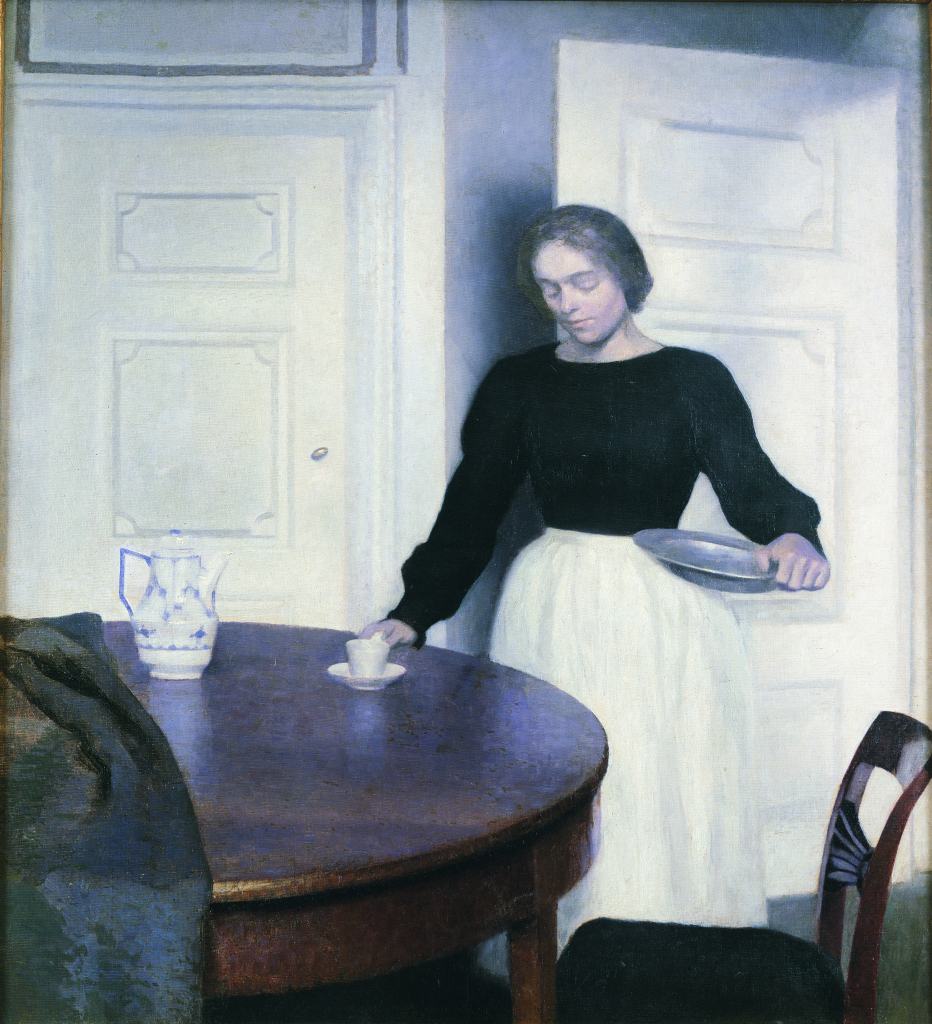 Vilhelm Hammershøi, Interior Strandgade, 1899