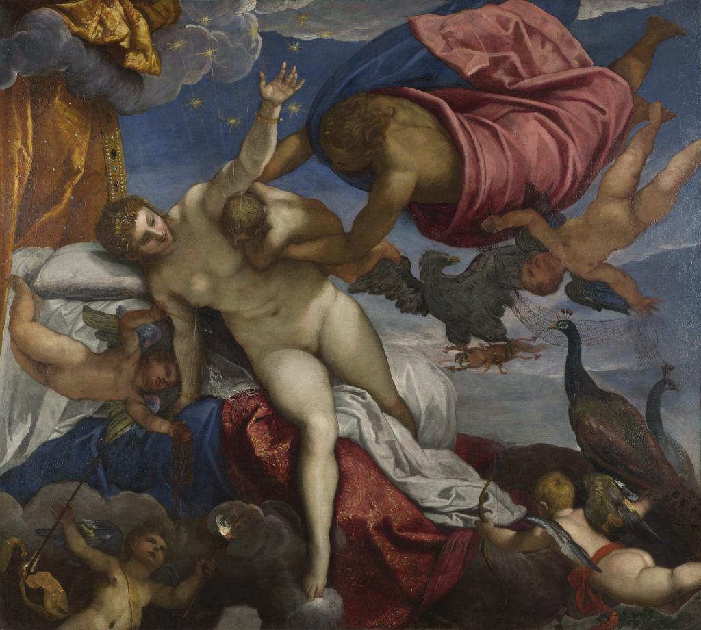 Jacopo Tintoretto, The Origin of the Milky Way, c. 1576/1578