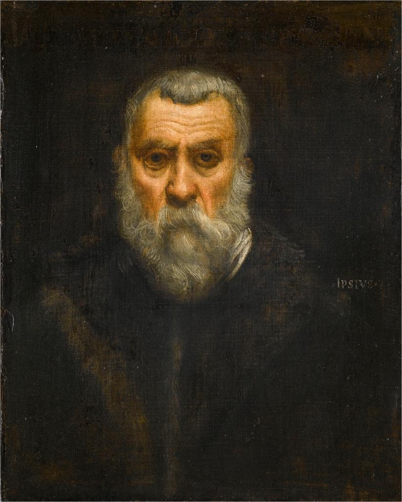 Jacopo Tintoretto, Self-Portrait, c. 1588