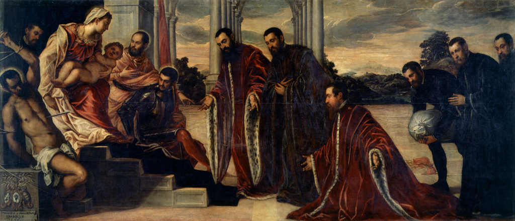 Jacopo Tintoretto, The Madonna of the Treasurers, 1567