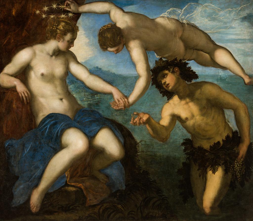Jacopo Tintoretto, The Wedding of Ariadne and Bacchus, 1578