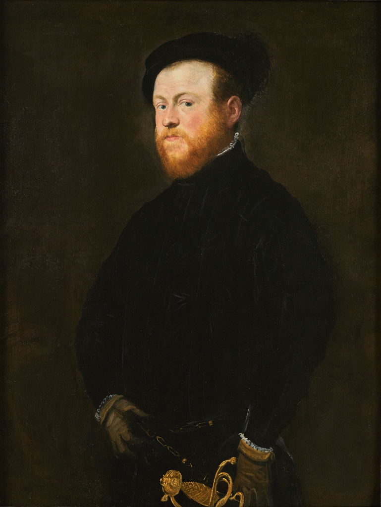 Jacopo Tintoretto, Portrait of a Man with a Red Beard, c. 1550