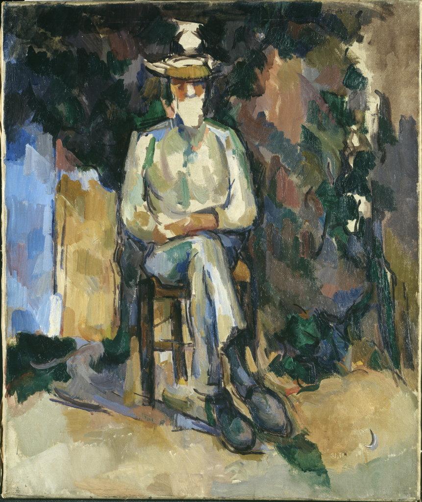 Paul Cézanne, Le Jardinier Vallier, vers 1904-1906