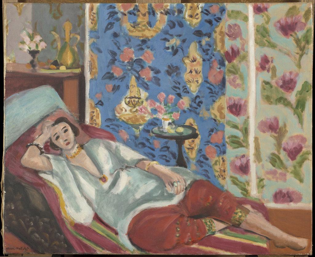 Matisse Henri, Odalisque à la culotte rouge