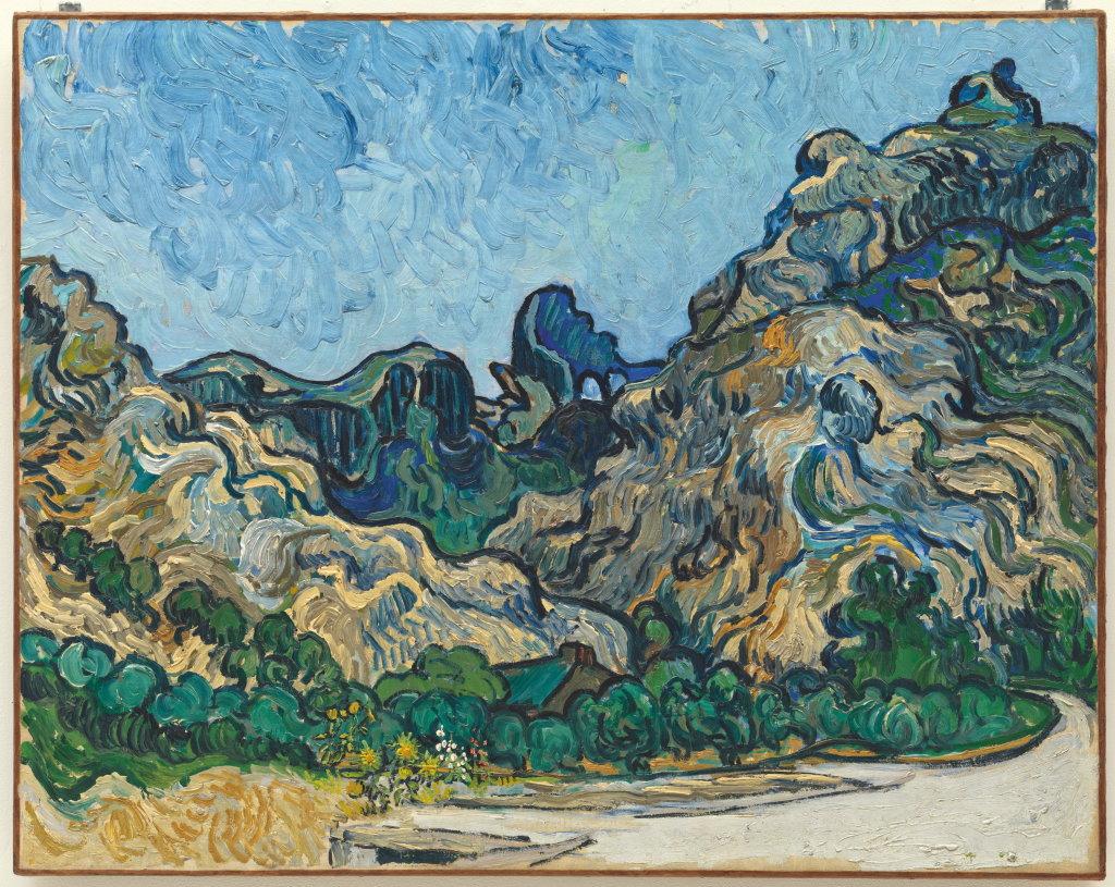 Vincent van Gogh, Mountains at Saint-Rémy (Montagnes à Saint-Rémy), July 1889
