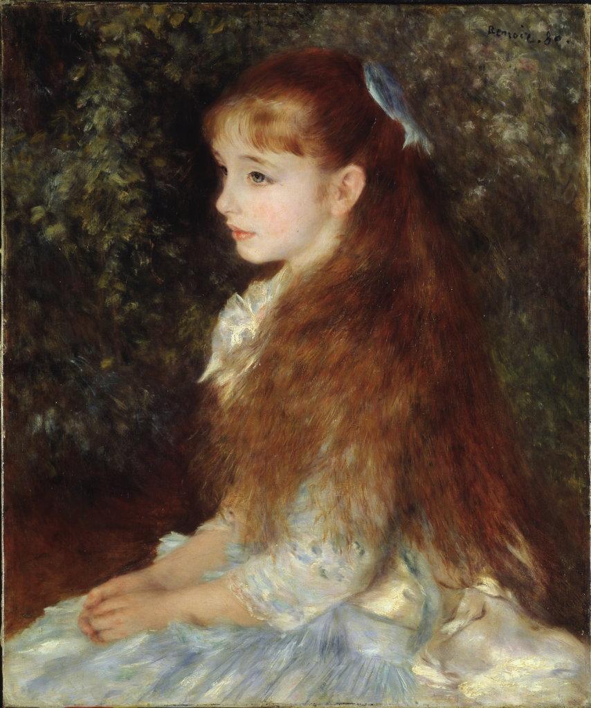 Pierre-Auguste Renoir, Portrait de Mademoiselle Irène Cahen d'Anvers (La petite Irène), 1880