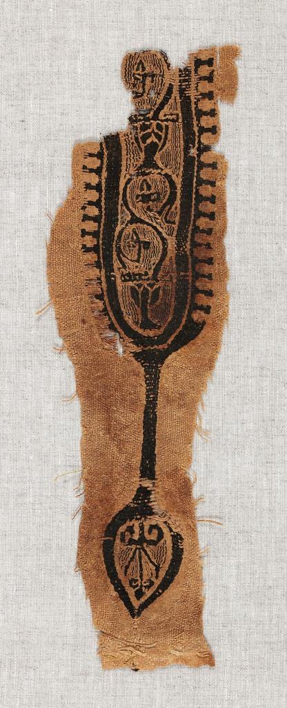 Fragment de clavus de tunique - don Fill Trevisiol Coll Fondation Roi Baudouin