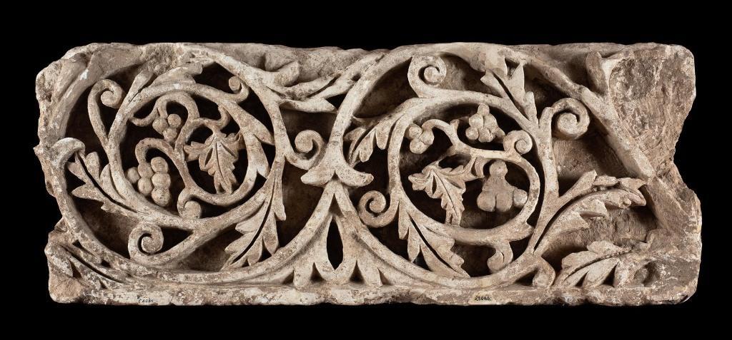 Fragment d'une frise vegetale - Bruxelles Musées royaux d'Art et d'Histoire