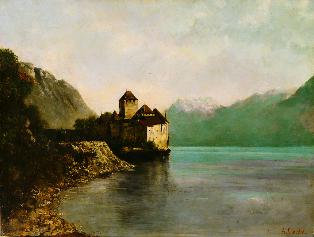 Gustave Courbet, Chateau Chillon