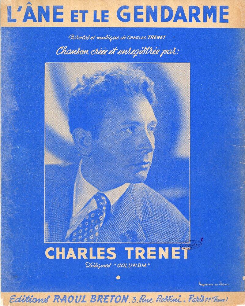 DOC95 Partition_de_la_chanson_interprete_par_Charles_Trenet - L_ane_et_le_gendarme
