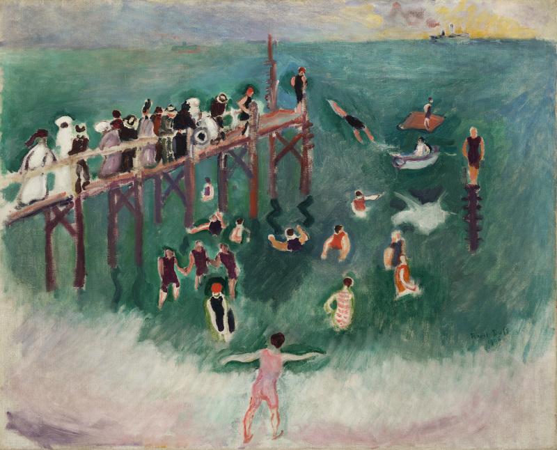 Dufy, La baignade, 1906