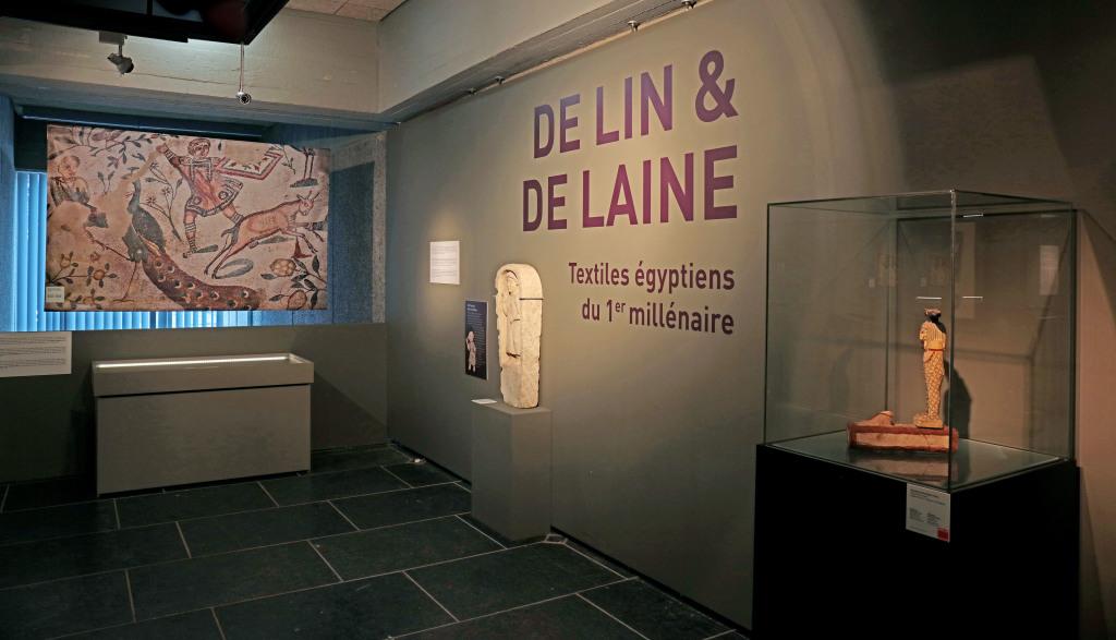 Exposition De lin et de laine, Musée Royal de Mariemont, Belgique (1)
