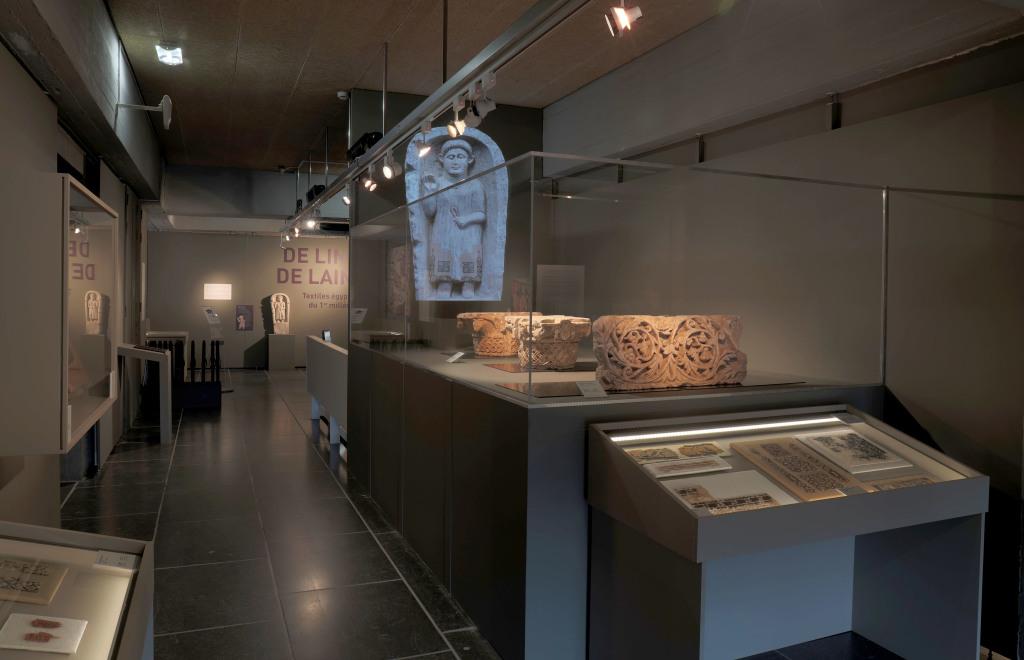 Exposition De lin et de laine, Musée Royal de Mariemont, Belgique (13)